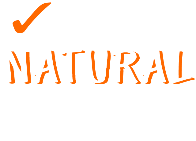 Only 100% Natural Beef