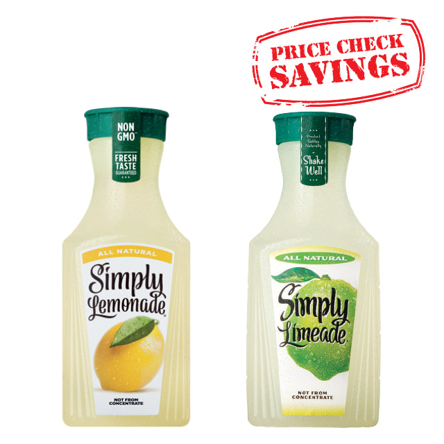 Simply Juices & Lemonades