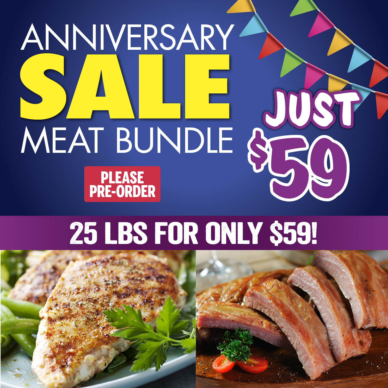 Anniversary Meat Bundle