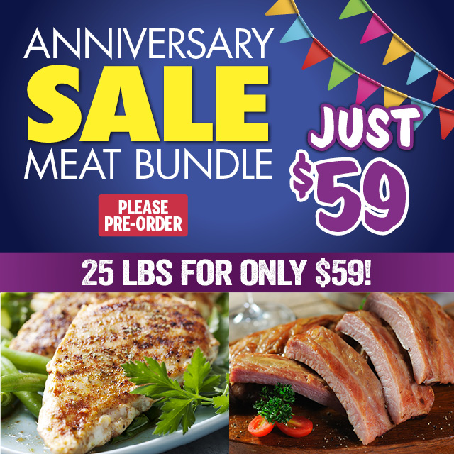 Anniversary Sale Meat Bundle