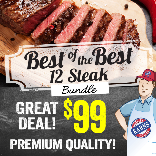 Best of the Best 12 Steak Bundle