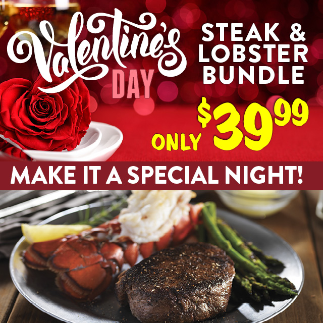 Valentine's Day Steak & Lobster Bundle