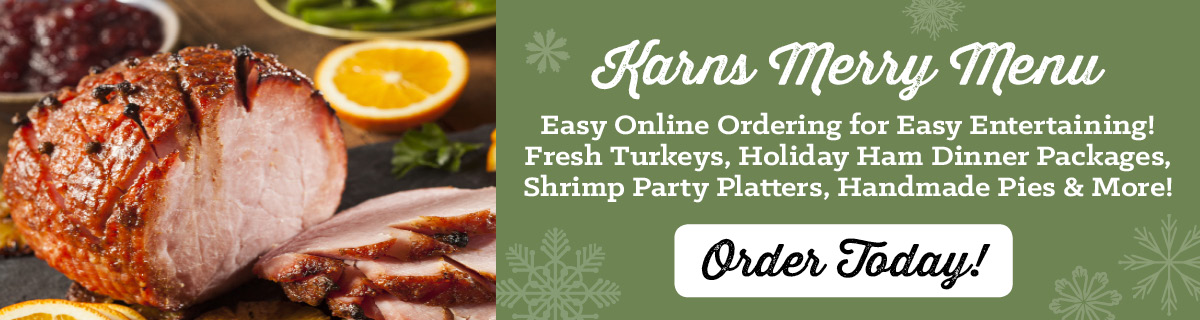 Shop Our Holiday Feast Online