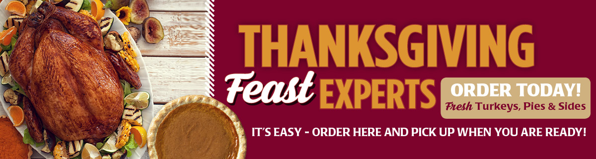 Shop Our Thanksgiving Feast Online