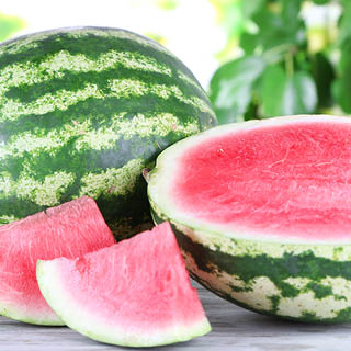 Whole Red Seedless Watermelons