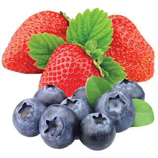 1 lb Strawberries or Blueberry Pints