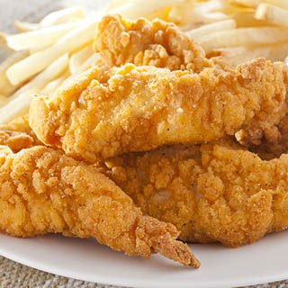 Breaded Chicken Breast Strips