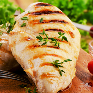 Amick Farms Fresh Trimmed Medium Boneless Skinless Chicken Breasts